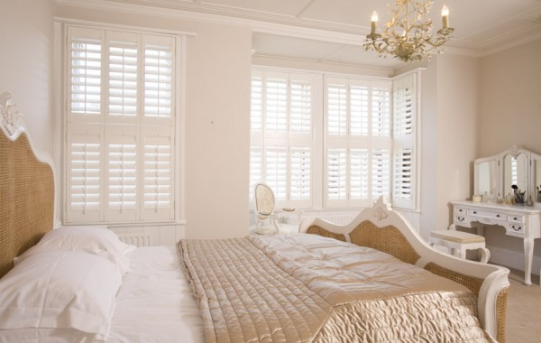 Engineered Wood Shutters for Bedrooms